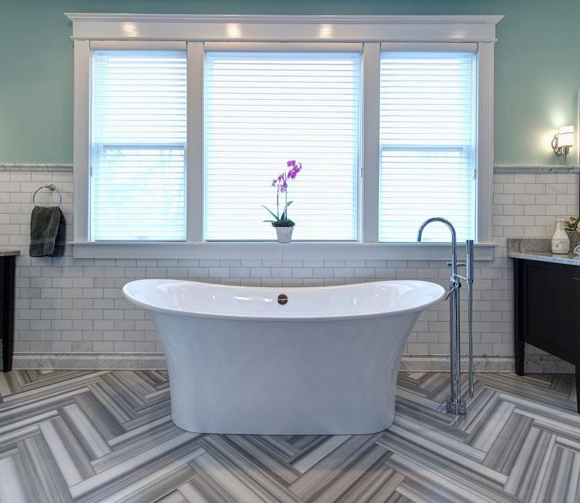 How To Tile A Bathroom Floor Like A Contractor Polsteins Hardware