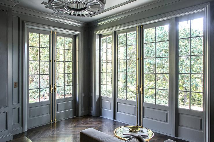 gray-french-doors-brass-french-casement-hardware